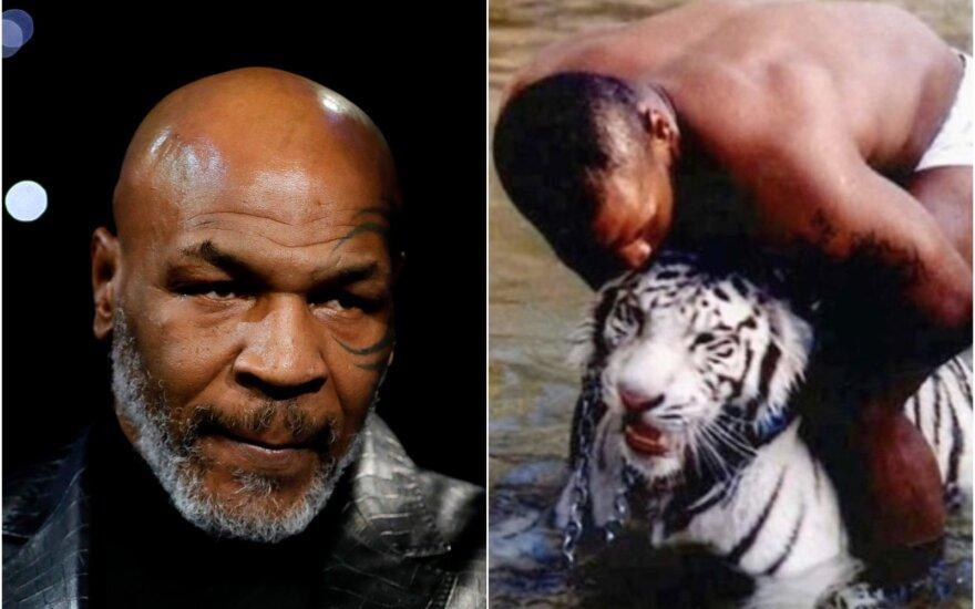 Mike'as Tysonas / Foto: Reuters-Scanpix, Instagram