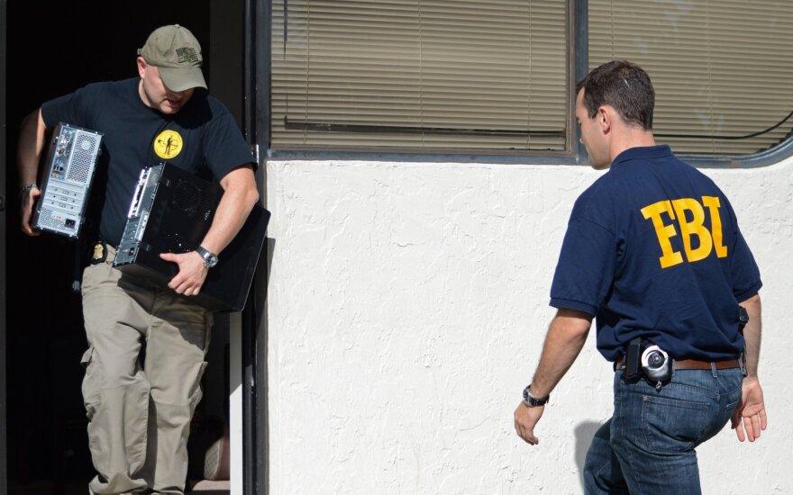 Sprogimo nuniokotame Kalifornijos SPA komplekse rasta bombos pėdsakų