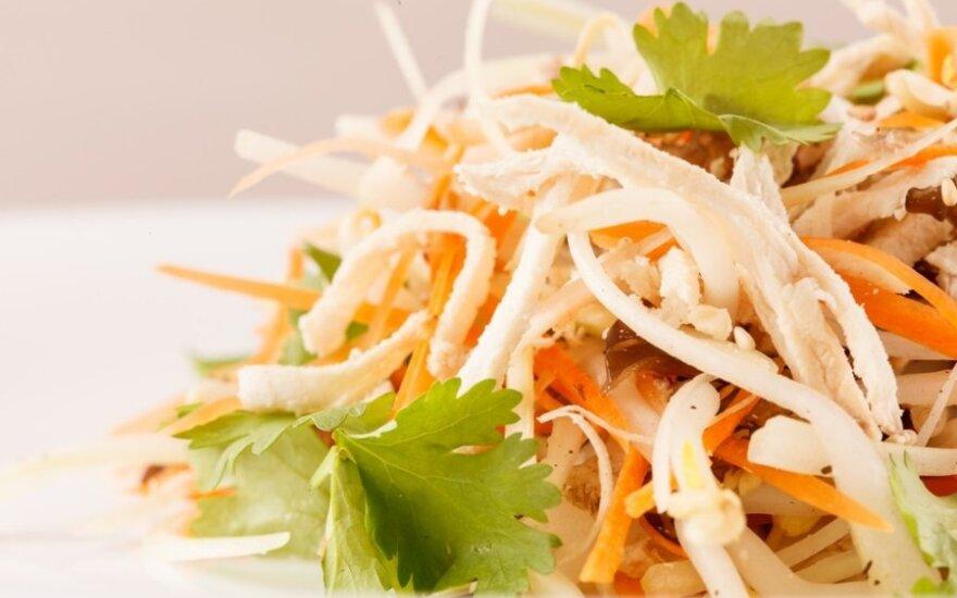 Lenkiškose salotose - pavojingas radinys