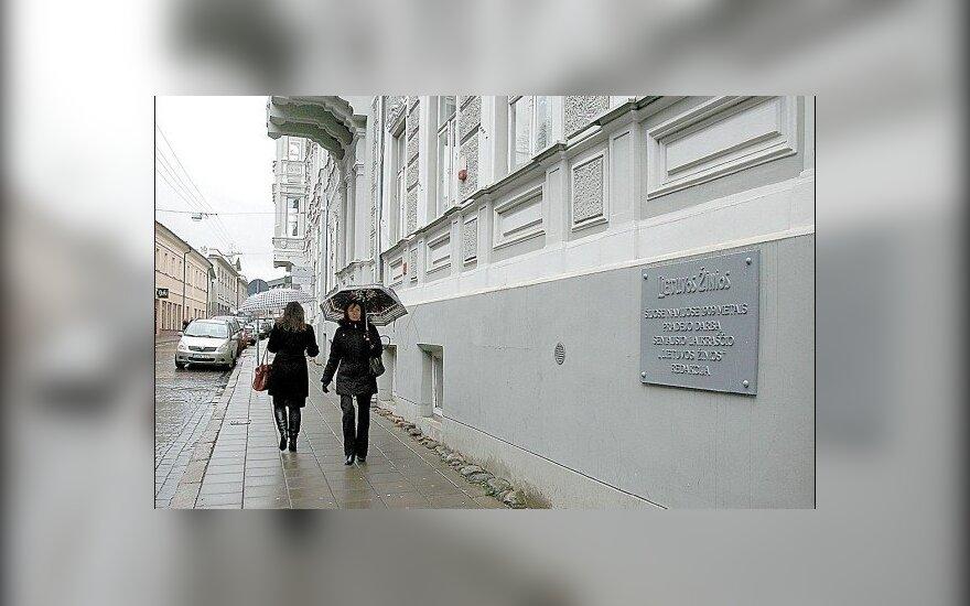 """Atleistas """"Lietuvos žinių"""" direktorius L. Genys"""