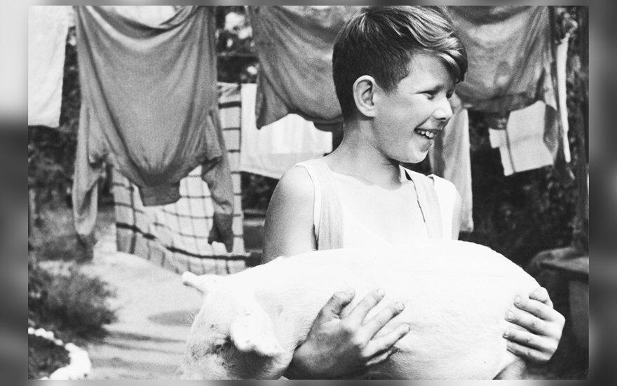 """""""Žydrasis horizontas"""", 1957"""