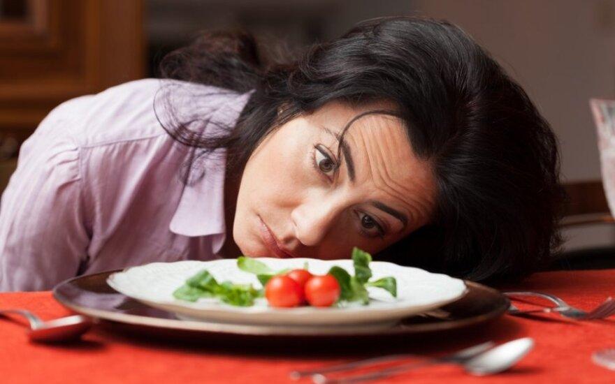 Populiariausios dietos, kurių laikosi lietuvės