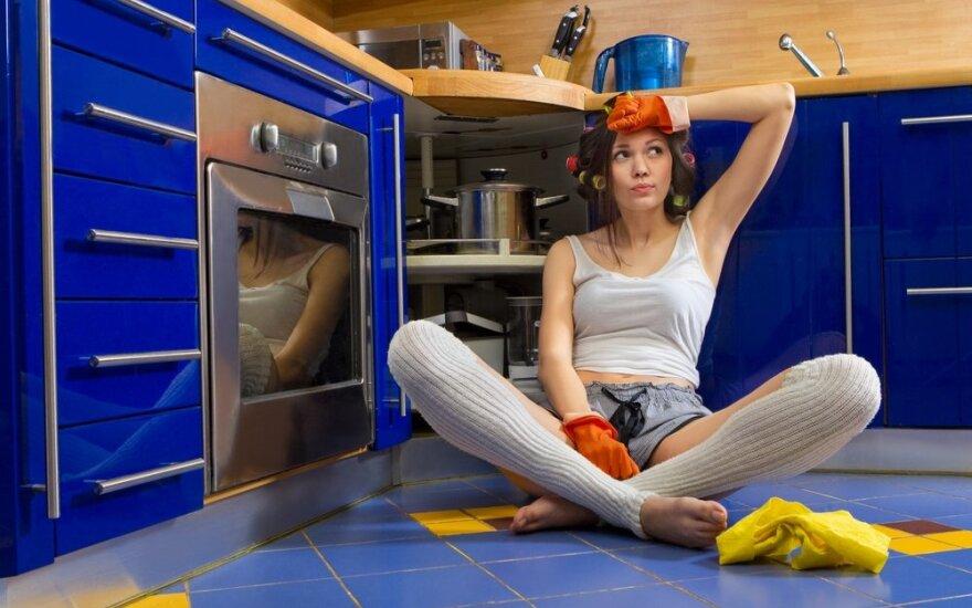 Namų tvarkymas vargins kur kas mažiau, jei nustosite vadovautis šiais stereotipais