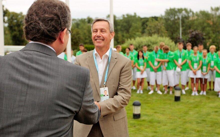 Lietuvos vasaros olimpinių žaidynių misijos vadovai - jau Londone
