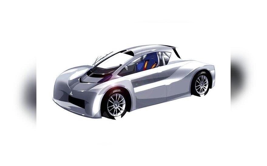 "Sportinio ""Mitsubishi i-MiEV"" koncepcija"