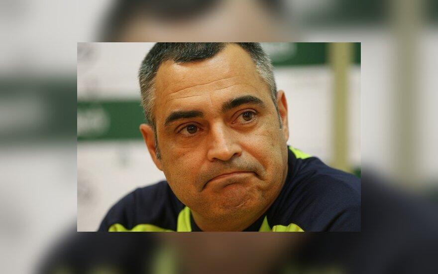 Rinktinės trenerio J.Couceiro likimą spręs LFF