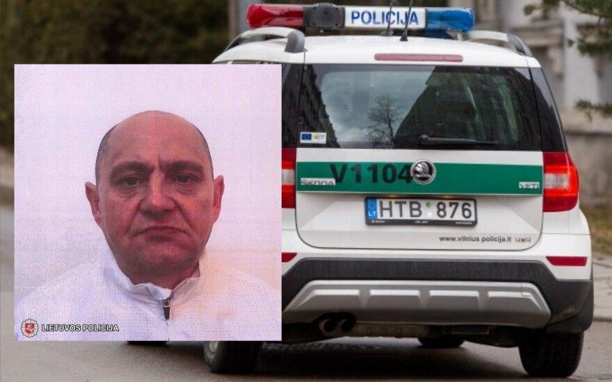 Išžaginimu įtariamas vyras surastas: nuo policijos bėgo per laukus