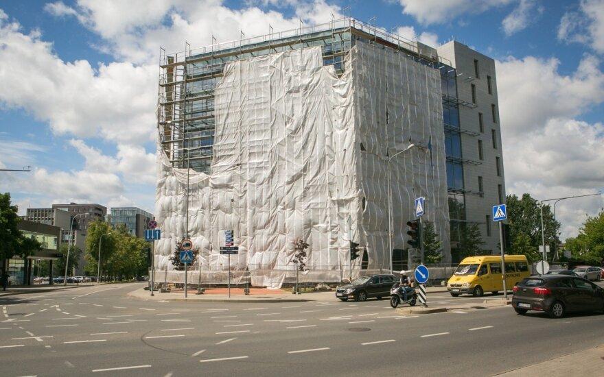 """Vilniaus savivaldybė neišduos naujo statybos leidimo """"Maskvos namams"""""""