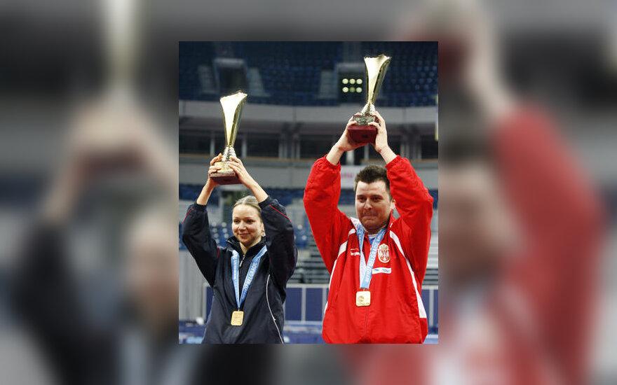 Rūta Paškauskienė ir Aleksandaras Karakaševičius