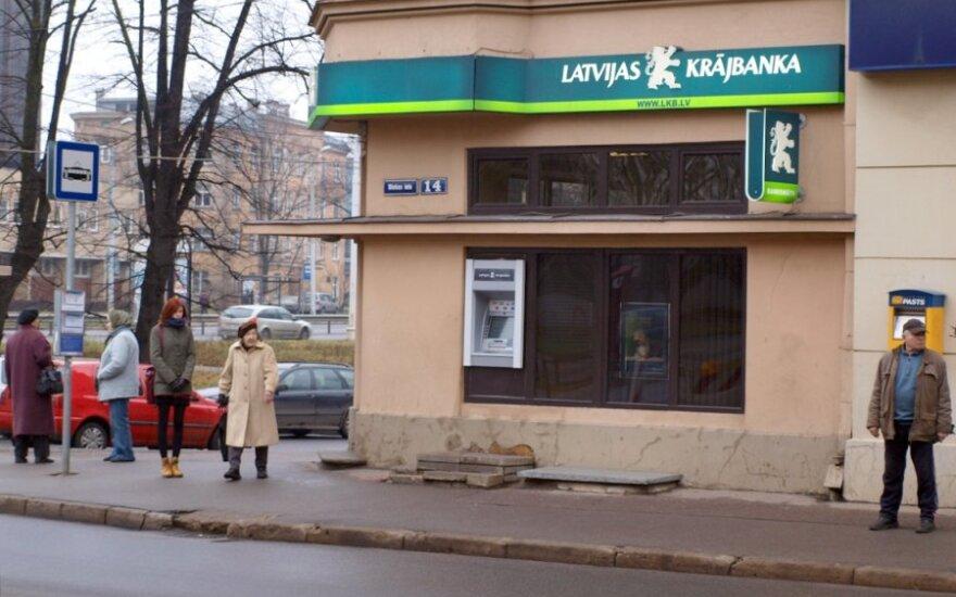 """""""Krajbanka"""" įsipareigojimai banko turtą viršija 140 mln. latų"""