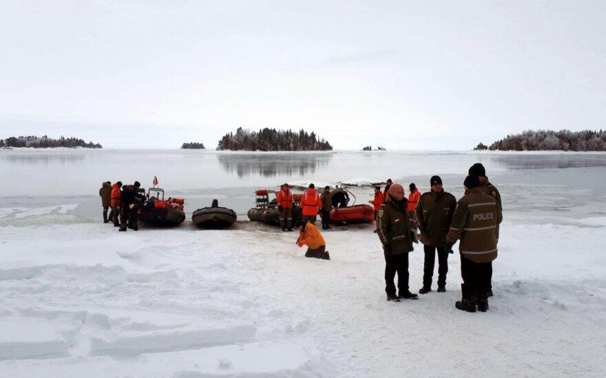Kanadoje po sniego motociklų avarijos rasti dar dviejų prancūzų turistų kūnai