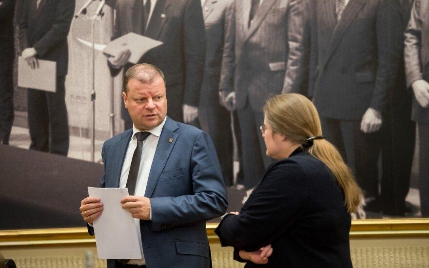 Saulius Skvernelis, Agnė Širinskienė