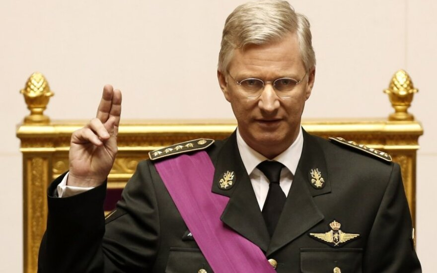 Belgijos karalius pratęsė mandatą Paului Magnettei formuoti vyriausybę