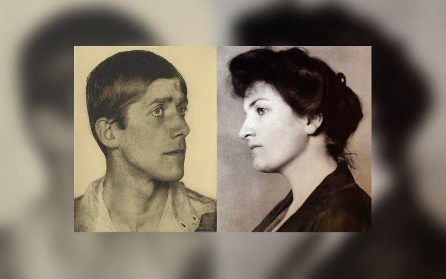 Oskaras Kokoschka ir Alma Mahler