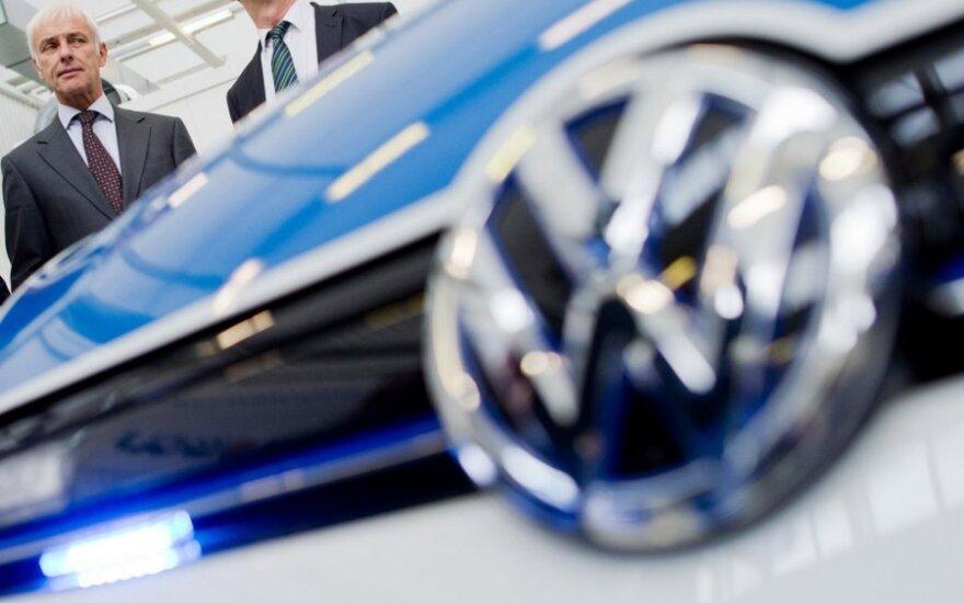 """Volkswagen"" vadovas Matthiasas Muelleris"