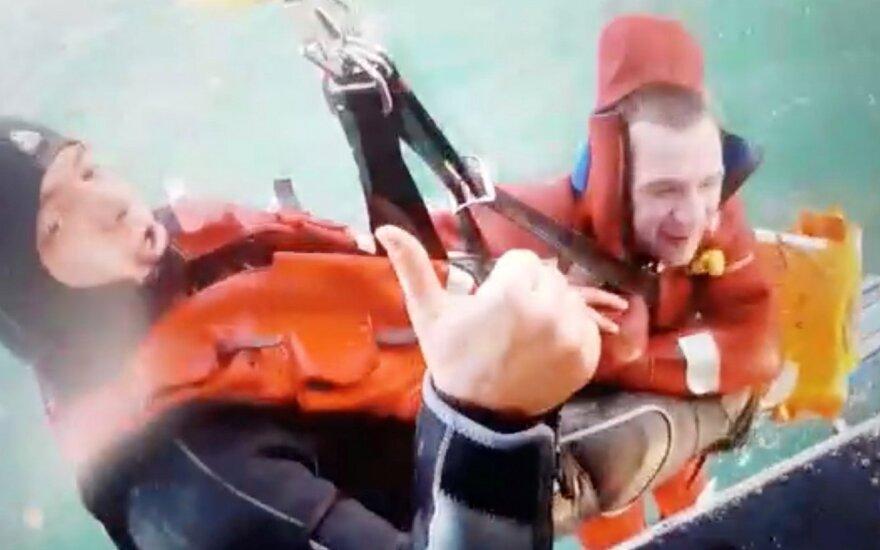 Juodojoje jūroje nuskendo iš Rusijos uosto plaukęs laivas, žuvo šeši žmonės