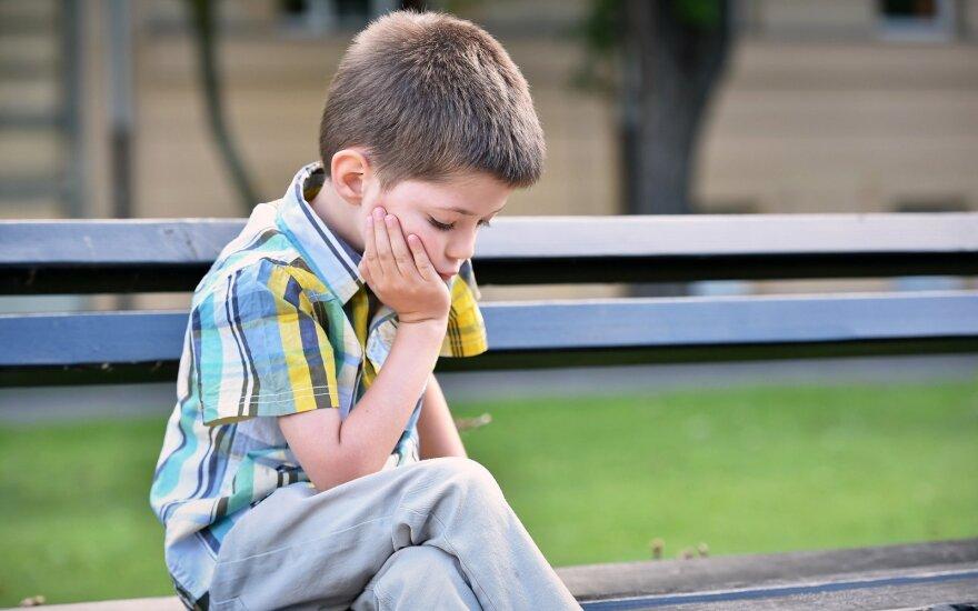 Liūdnas vaikas