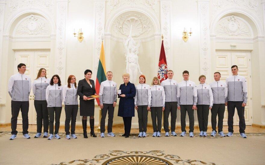 Lietuviai olimpinių žaidynių atidaryme žengs 15-ti