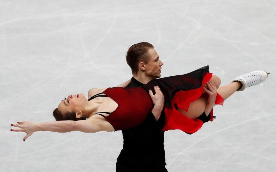 Saulius Ambrulevičius ir Allison Reed