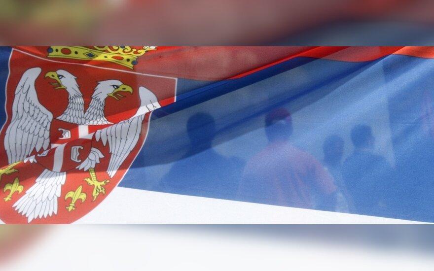 Serbijos parlamentas pradėjo darbą po boikoto aptemdytų rinkimų