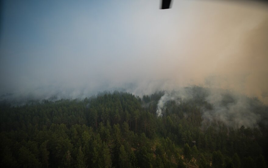 Fires in Latvia