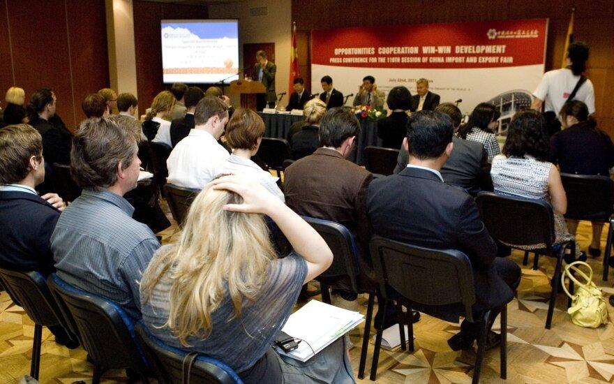 Vyriausybės kancleris Stončaitis su delegacija lankysis Kinijoje vyksiančioje importo parodoje