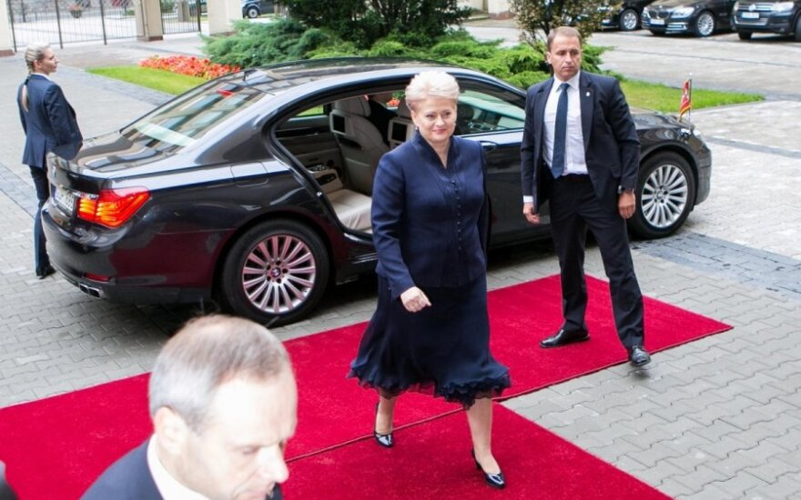 Lithuanian president inaugurated for second term