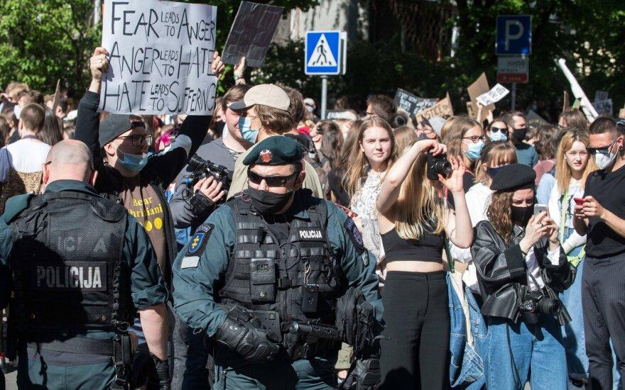 BLM protestas Vilniuje