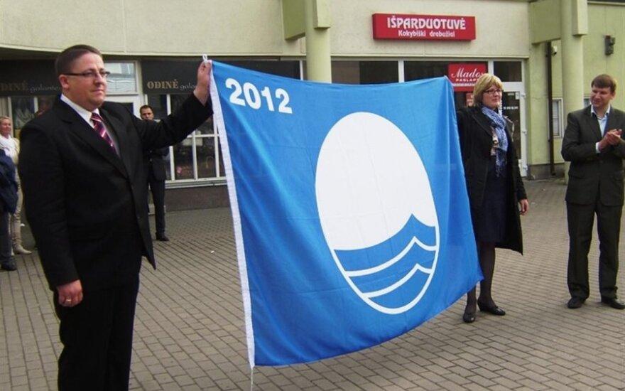 Smiltynės ir Melnragės paplūdimiai sieks Mėlynosios vėliavos