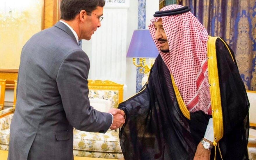 Markas Esperis vieši Saudo Arabijoje