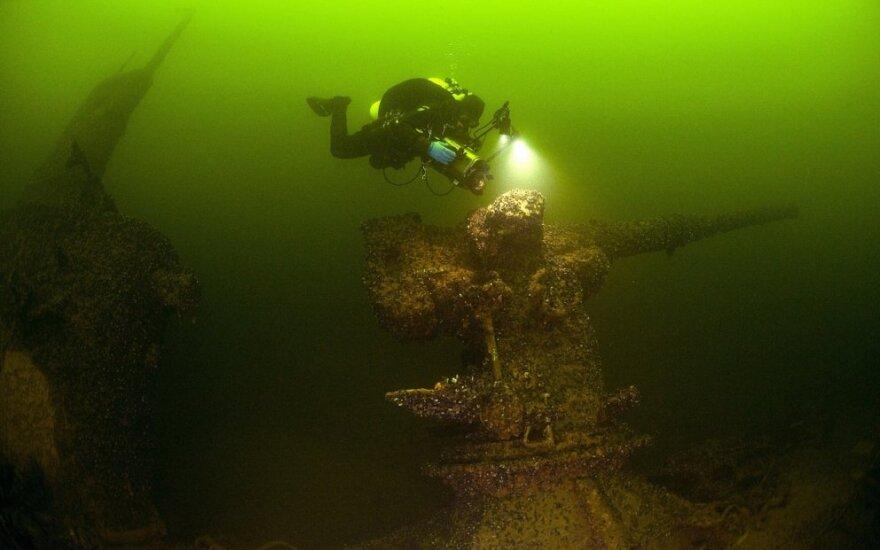 Nuskendęs rusų povandeninis laivas