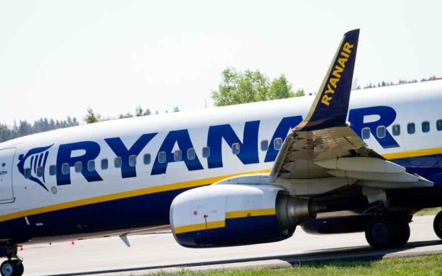 """""""Ryanair"""" atsisako daugumos skrydžių iš Talino"""