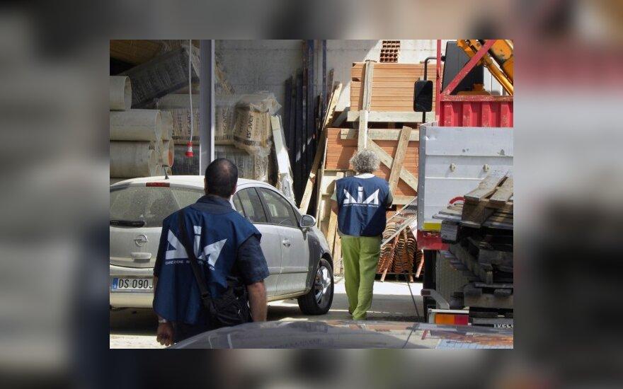 Italijoje suimti 32 mafijos nariai