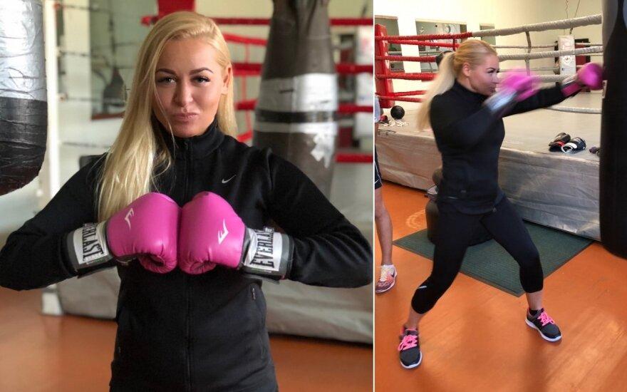 Viktorija Perminaitė pasinėrė į boksą