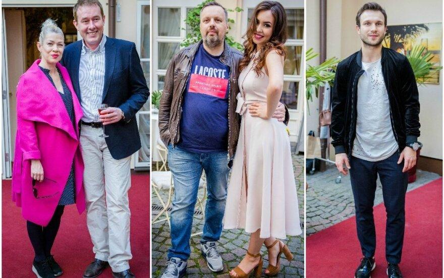 Lina Rastokaitė ir Džiugas Siaurusaitis, Andrius Užkalnis ir Fausta Marija Leščiauskaitė, Vaidas Baumila