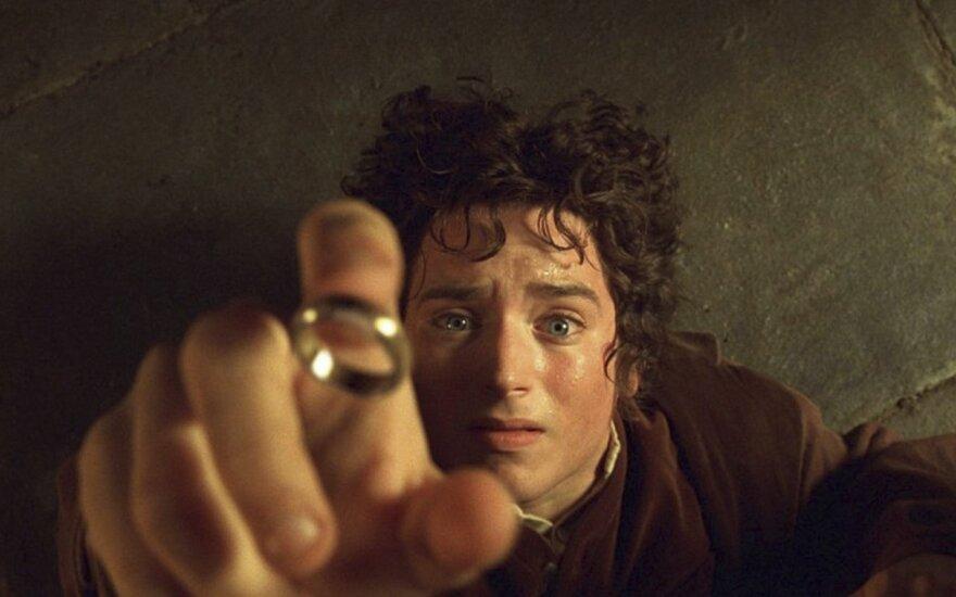 """Filmo """"Žiedų valdovas"""" kadras"""