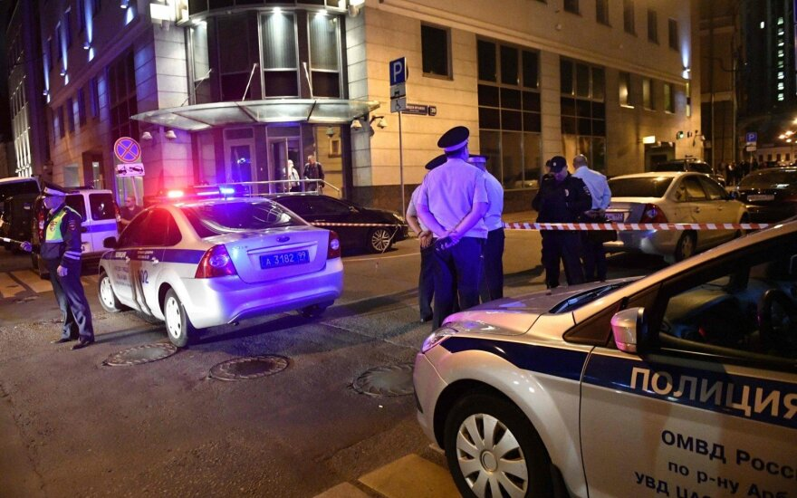 Maskvos metropoliteno stotyje nušautas policininkas