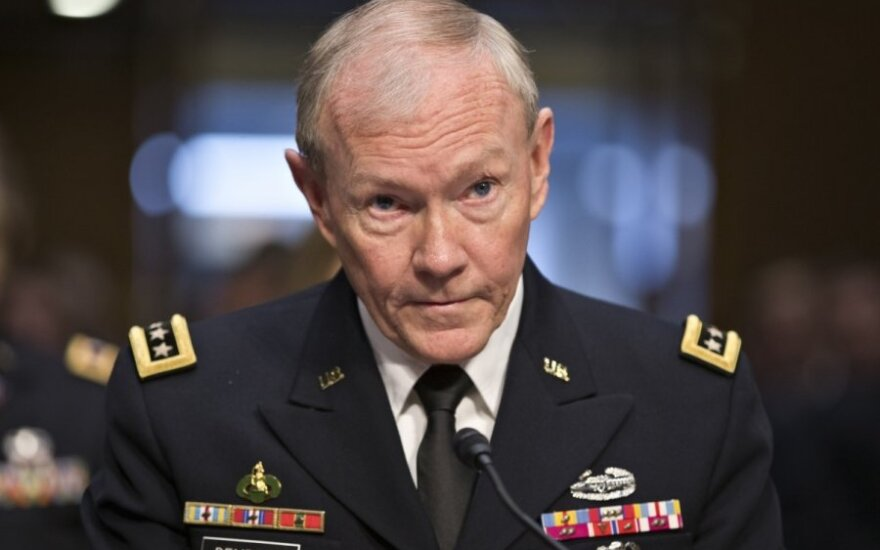 General Martin E. Dempsey, chairman of the US Joint Chiefs of Staff