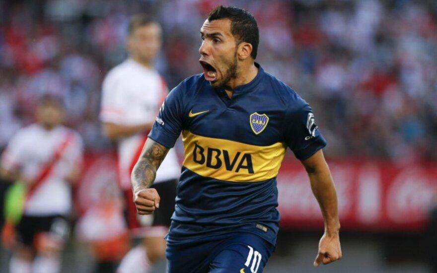 Carlosas Tevezas