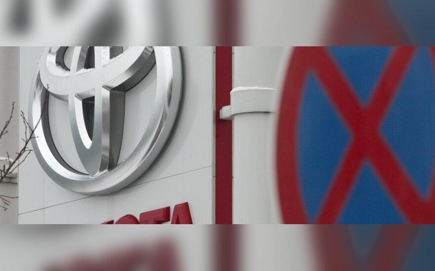 """""""Toyota"""" atnaujina visų gamyklų Japonijoje darbą"""