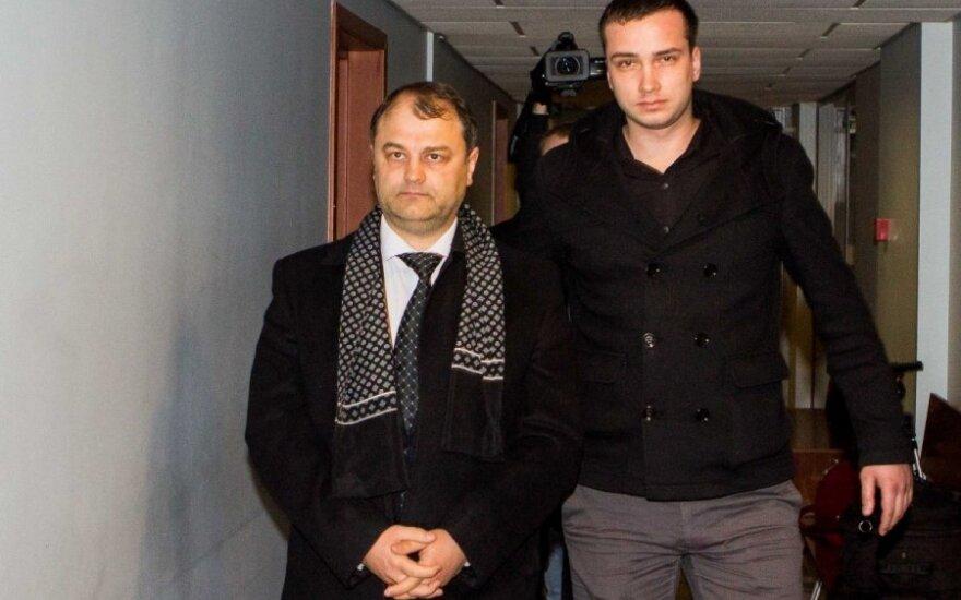 Sergejus Rachinšteinas (kairėje)
