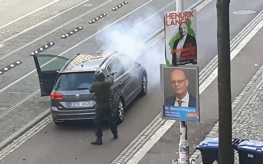 Šaudynių vieta Vokietijoje