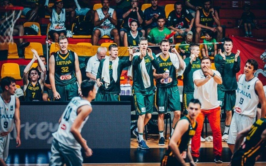 Lietuvos jaunių (iki 18 metų) krepšinio rinktinė
