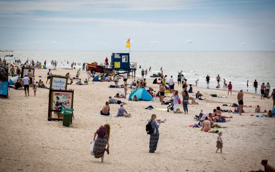 Sinoptikė: Baltijos jūra patiks ne visiems atostogautojams