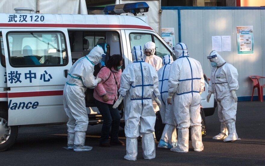 JAV tarp asmenų, evakuotų iš Kinijos, patvirtintas antras naujo koronaviruso atvejis