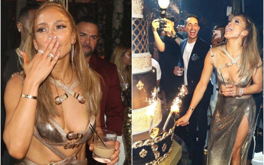 Jennifer Lopez sukako 50 metų
