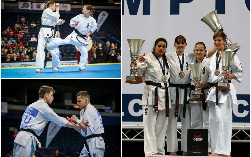 Europos kiokušin karatė čempionatas Vilniuje