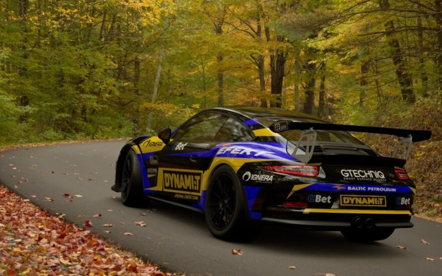 "Naujasis ""Dynami:t"" komandos ""Porsche"""