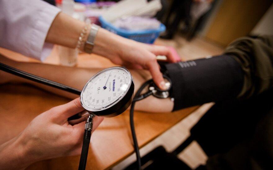 Ką daryti, jei kraujo spaudimas per žemas?