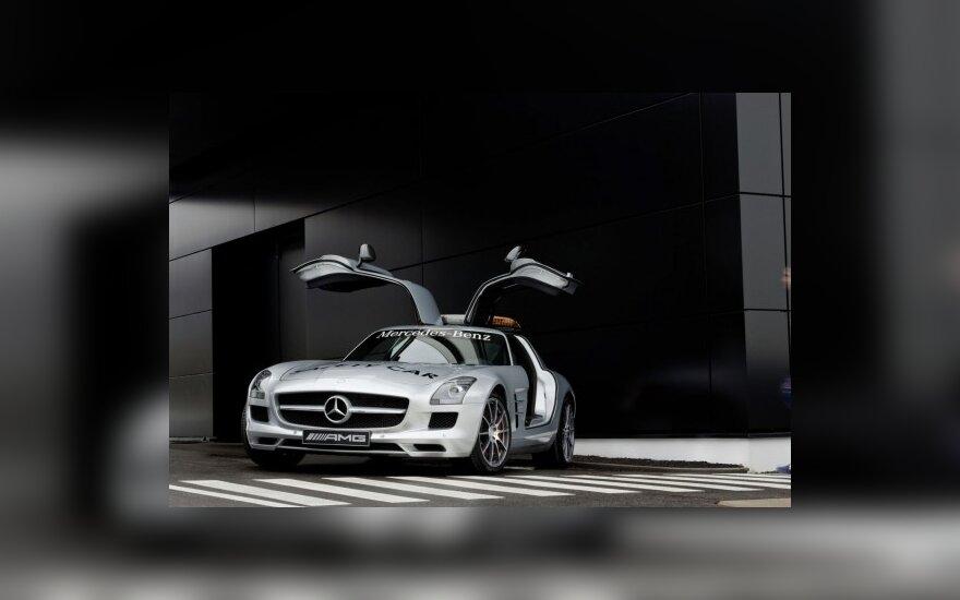Mercedes-Benz SLS AMG – F-1 saugos automobilis